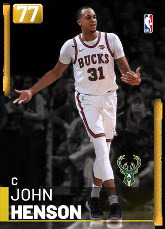 John Henson gold card