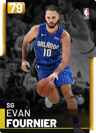 Evan Fournier gold card