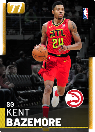 Kent Bazemore gold card