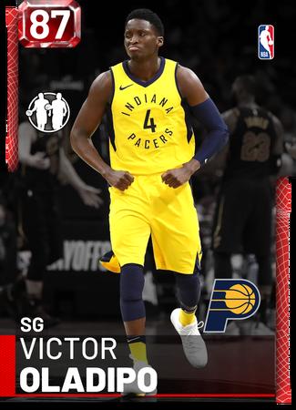 Victor Oladipo ruby card