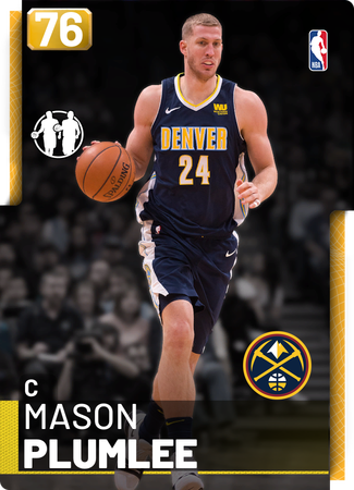 Mason Plumlee gold card