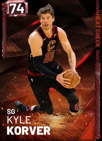 Kyle Korver fire card