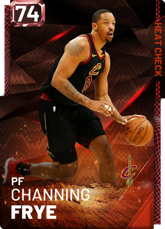 Channing Frye fire card