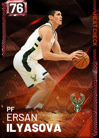 Ersan Ilyasova fire card