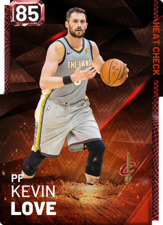 Kevin Love fire card