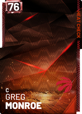 Greg Monroe fire card