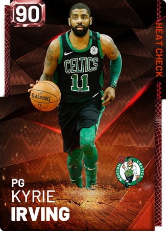 Kyrie Irving fire card