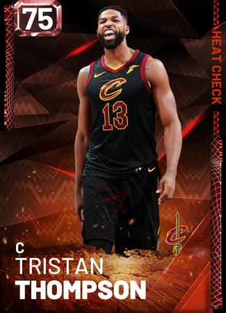 Tristan Thompson fire card