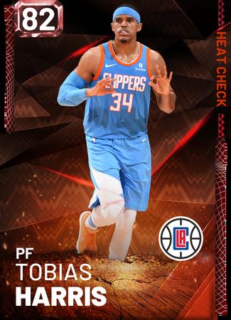 Tobias Harris fire card