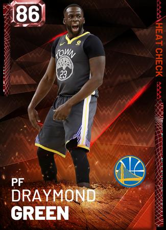 Draymond Green fire card