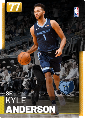 Kyle Anderson gold card