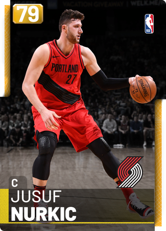 Jusuf Nurkic gold card