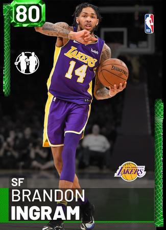 Brandon Ingram emerald card