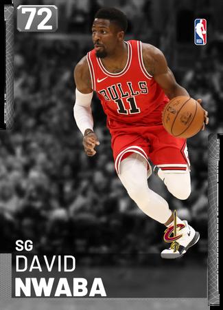 David Nwaba silver card