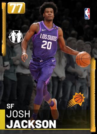 Josh Jackson gold card