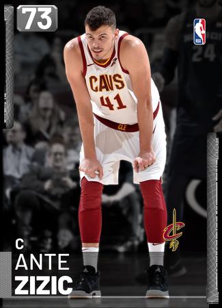 Ante Zizic silver card