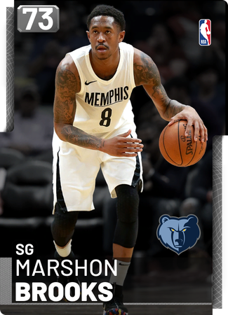 Marshon Brooks silver card