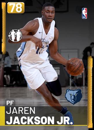 Jaren Jackson Jr. gold card