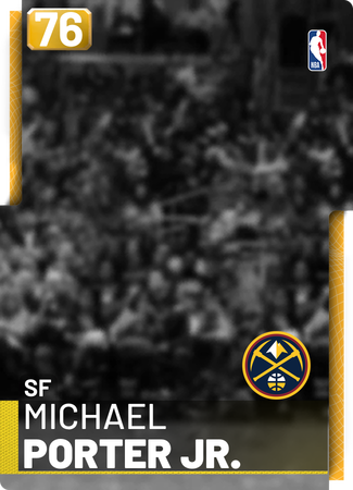 Michael Porter Jr. gold card