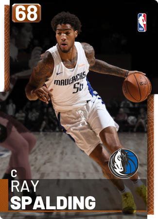 Ray Spalding bronze card