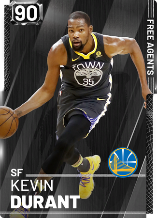 Kevin Durant onyx card