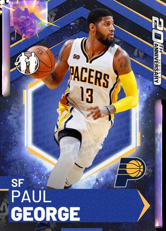 Paul George opal card