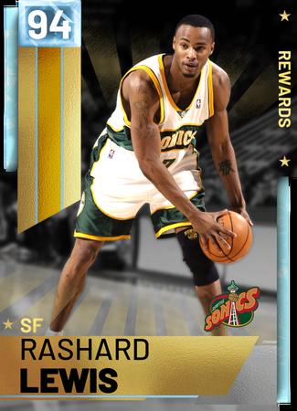 '13 Rashard Lewis diamond card