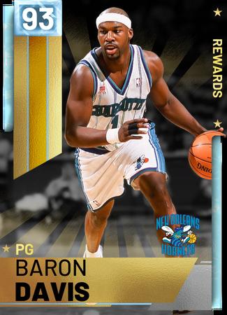 '12 Baron Davis diamond card