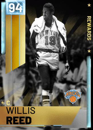 '70 Willis Reed diamond card