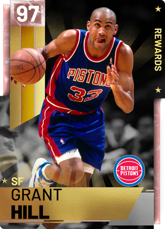 '05 Grant Hill pinkdiamond card