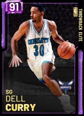 '94 Dell Curry amethyst card