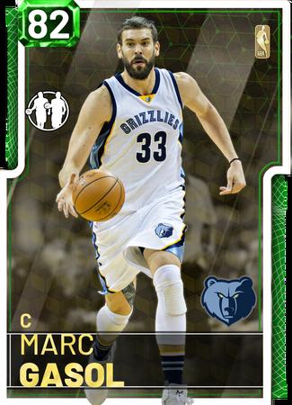 Marc Gasol emerald card