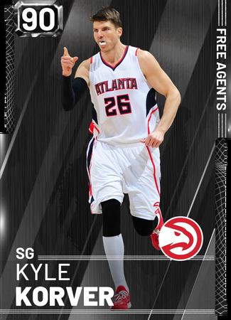 '18 Kyle Korver onyx card