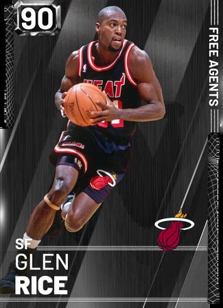 '95 Glen Rice onyx card