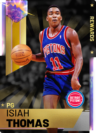 '82 Isiah Thomas opal card