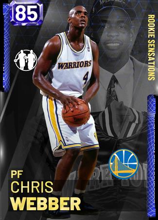 '94 Chris Webber sapphire card