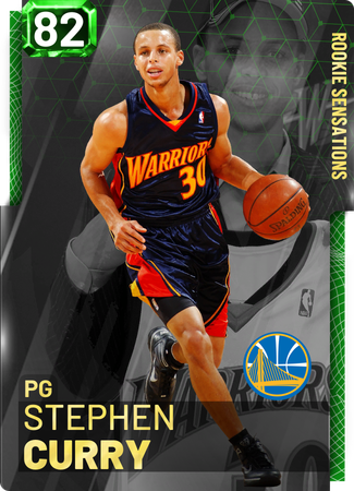 '10 Stephen Curry emerald card