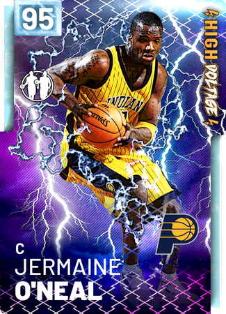 '00 Jermaine O'Neal diamond card