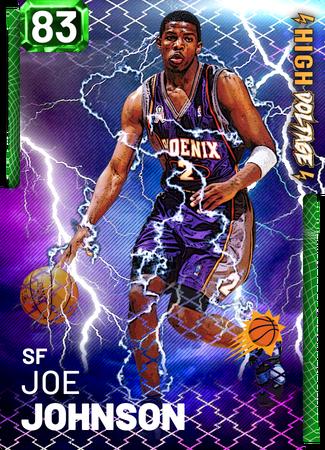 '05 Joe Johnson emerald card