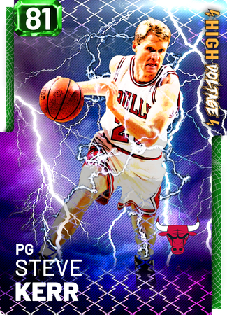 '03 Steve Kerr emerald card