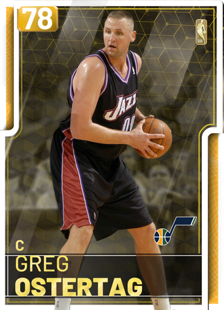 '98 Greg Ostertag gold card