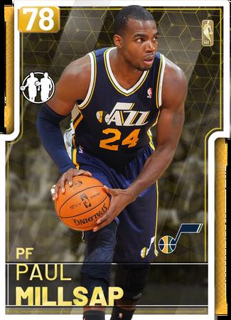 '18 Paul Millsap gold card