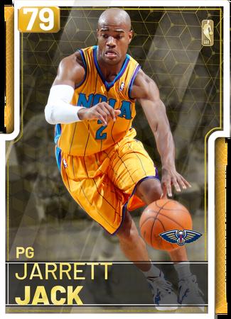 '08 Jarrett Jack gold card