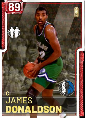 '95 James Donaldson ruby card