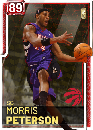 '11 Morris Peterson ruby card