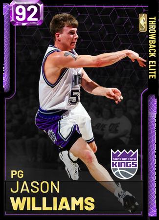 '00 Jason Williams amethyst card
