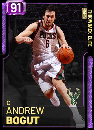 '18 Andrew Bogut amethyst card