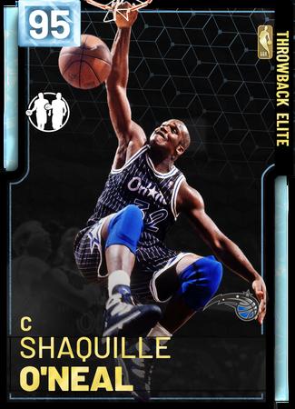 '11 Shaquille O'Neal diamond card