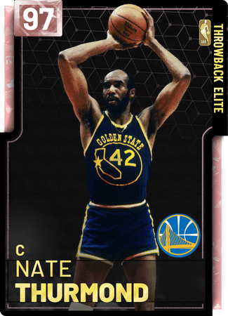 '77 Nate Thurmond pinkdiamond card