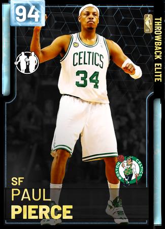 '08 Paul Pierce diamond card